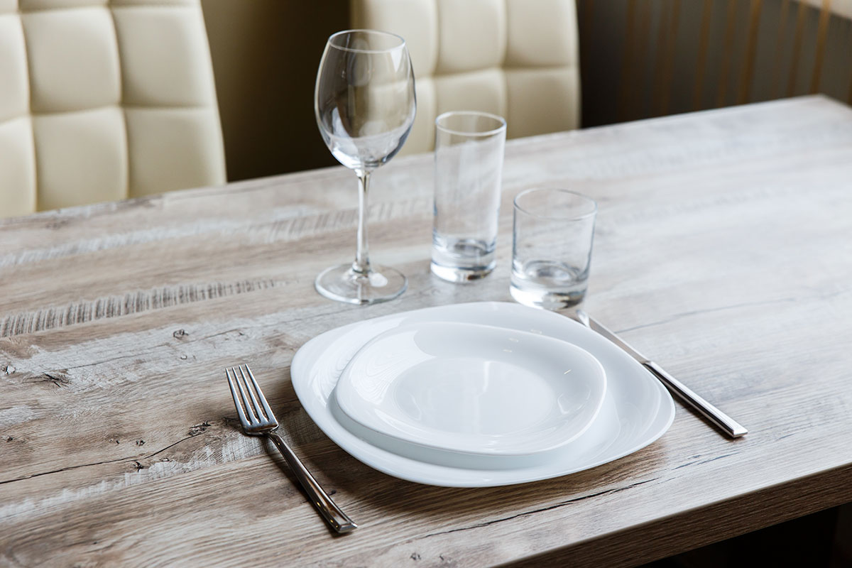 Table for one, dining alone, grief, bereavement, loss,